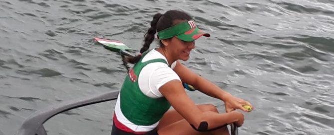 Kenia Lechuga Gana Oro para México en remo individual