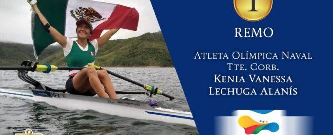 Kenia Lechuga consigue un oro más para México.