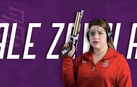 Alejandra Zavala demuestra que sus pistolas truenan en Barranquilla