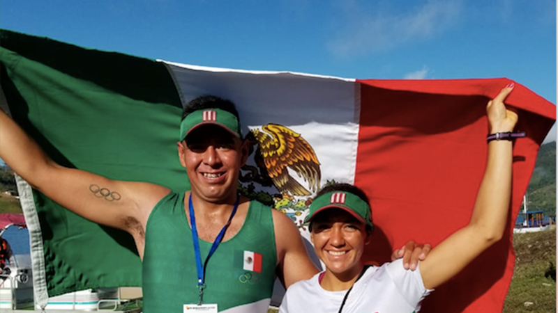 México suma dos platas en remo en barranquilla.