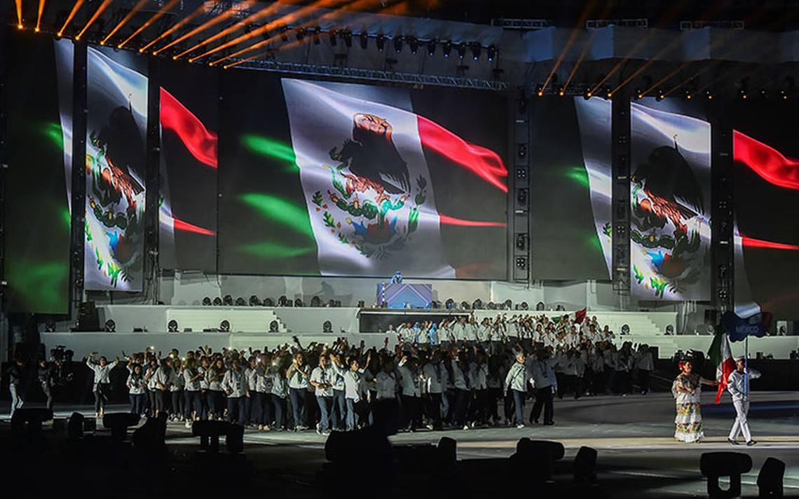 Delegación Mexicana en la Barranquilla 2018