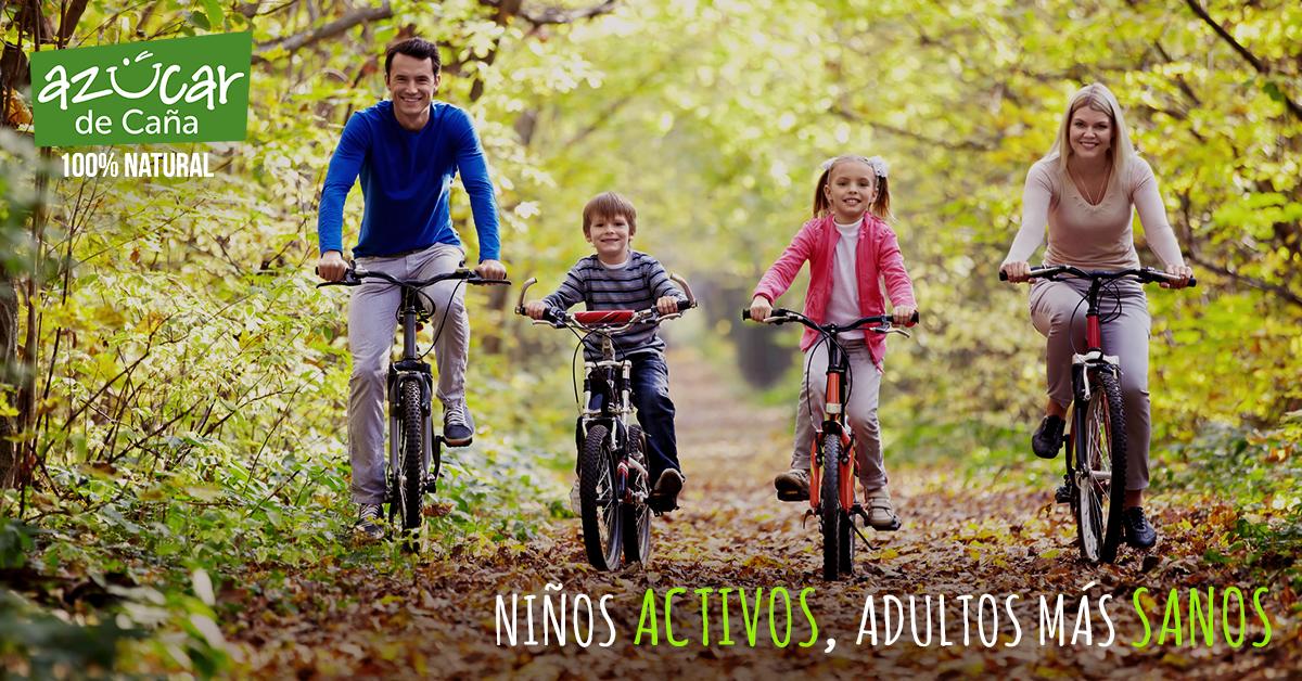 ¡Niños felices, adultos más sanos!