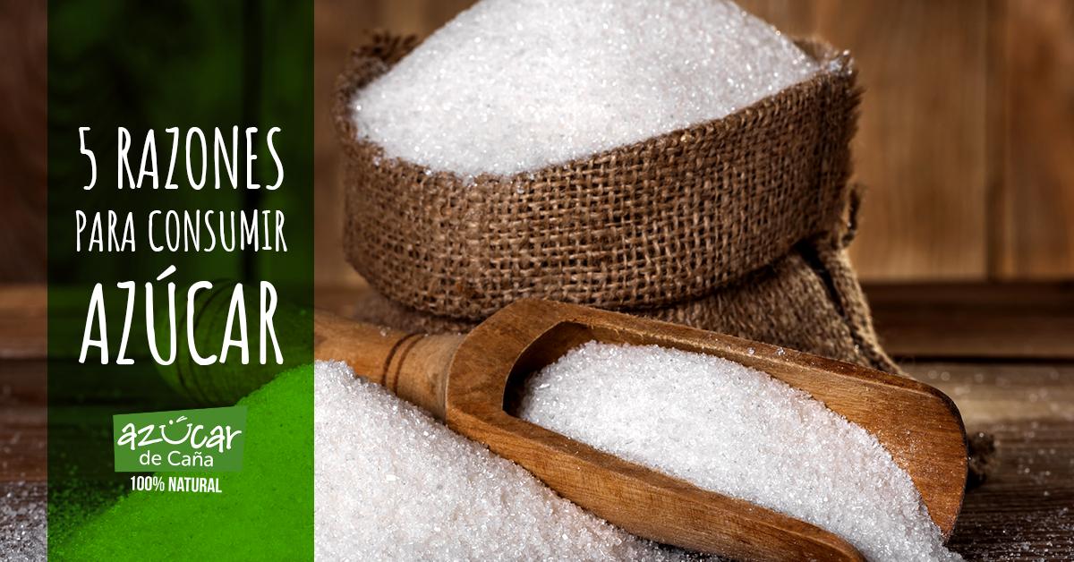 5 razones para comer azúcar