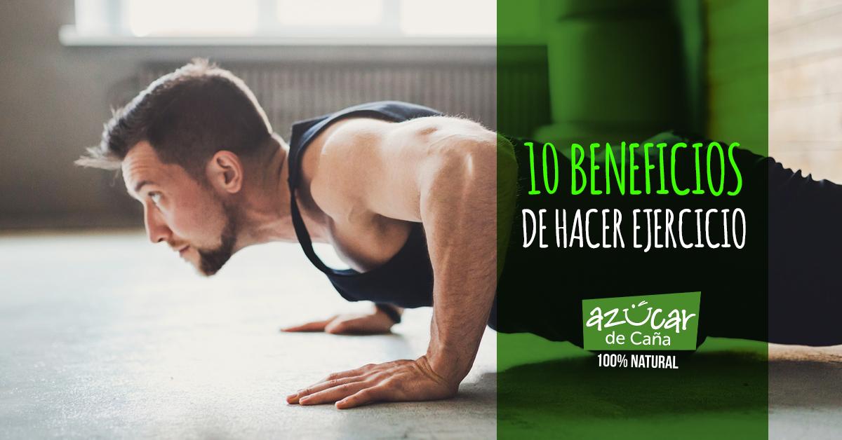10 beneficios de hacer ejercicio