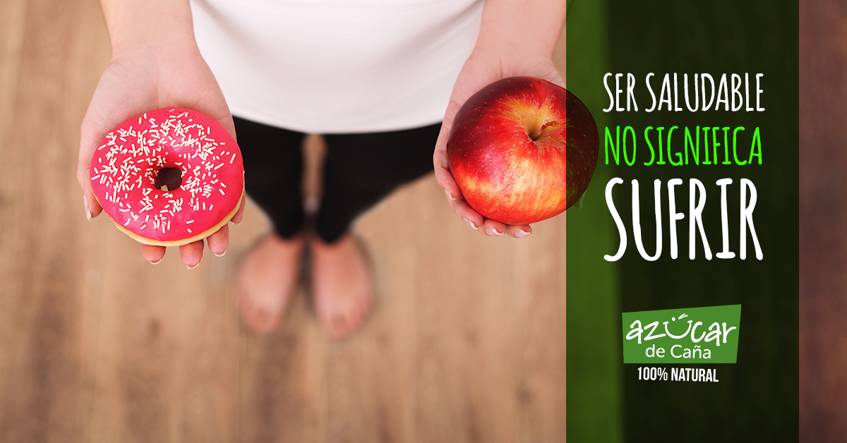 Ser saludable no significa sufrir