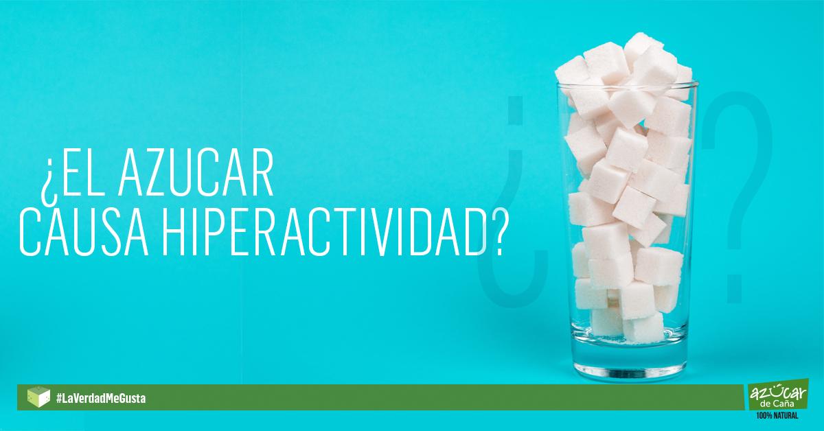 El mito del azúcar y la hiperactividad