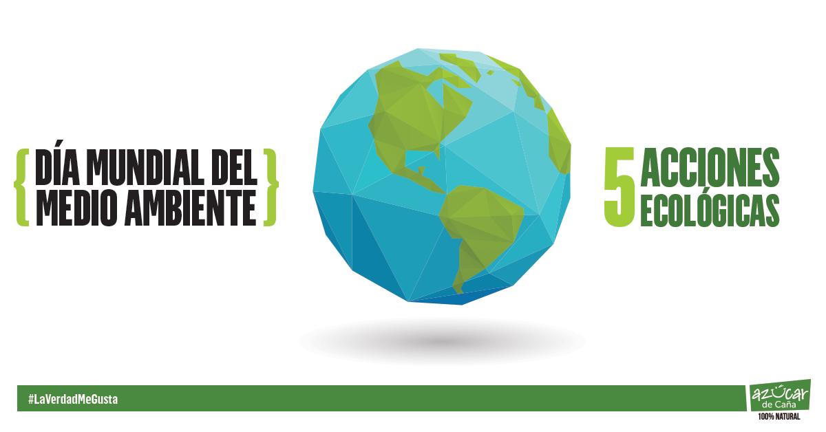 5 acciones para cuidar el planeta