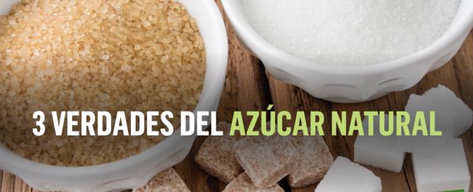 3 verdades del azúcar natural
